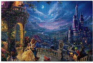 D-is-ney Be-auty and The Be-AST Puzzle 1000 Piece Jigsaw Puzzle Kids Adult 29.72×19.8 inches-1