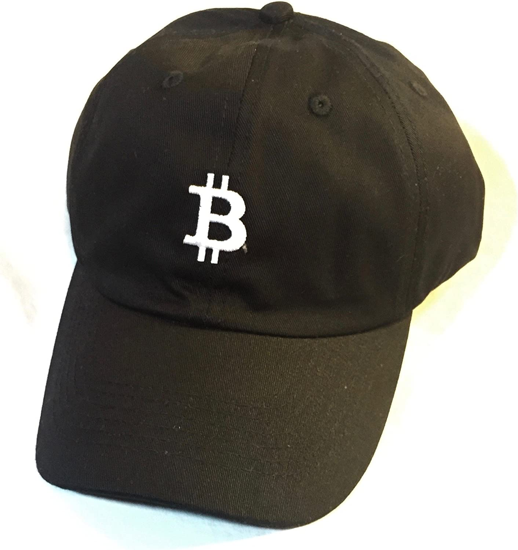 Black Bitcoin Adjustable Baseball 'Dad' Hat