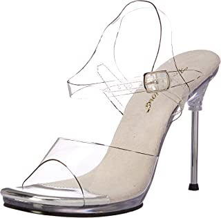 37329d61690b Fabulicious Women s Chic08 c m Platform Sandal