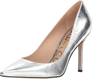 3146be704619 Amazon.com  Silver - Pumps   Shoes  Clothing