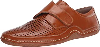 STACY ADAMS Men's Omega Casual Monk Strap Driving Style Loafer