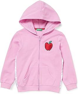 United Colors of Benetton (Z6ERJ) Girls' Giacca C/CAPP M/L 3J68C5932 Cardigan Sweater