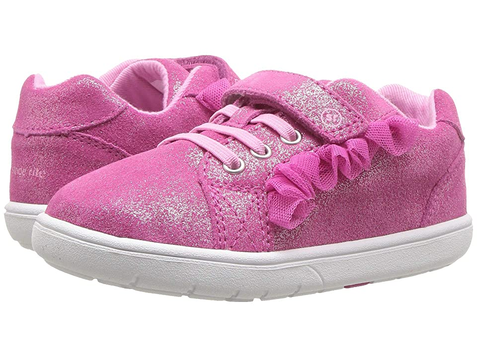Stride Rite SRT Nora (Toddler) (Fuchsia Leather) Girls Shoes