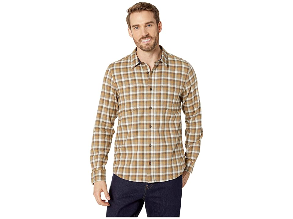 Toad&Co Flannagan Long Sleeve Shirt (Dark Chino) Men