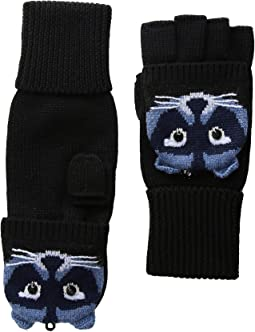 Raccoon Pop Top Mitten