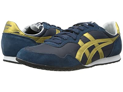 Onitsuka Tiger Serranotm (Navy/Gold) Classic Shoes