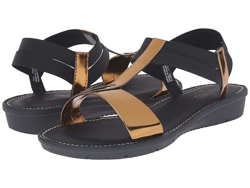 Munro Ideal (Gold Mirror/Black Elastic) Women