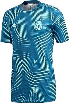 Desde Mula sacerdote  adidas Argentina PreMatch Primera Equipación 2019, Camiseta, Blue  Night-Light Aqua, Talla XS: Amazon.es: Deportes y aire libre