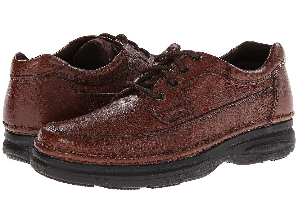 Nunn Bush Cameron Comfort Walking Oxford (Brown Tumbled Leather) Men