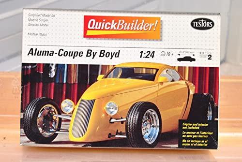 Testors 1994 Quick Builder  5202 Aluma-Coupe by Boyd 1 24 Scale Model Kit by Testor Corp.