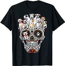 Pitbull Mom Sugar Skull Shirt- Funny Gothic Dog Mom Dad Gift
