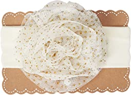Mud Pie - Jumbo Mesh Puff Headband (Infant/Toddler)