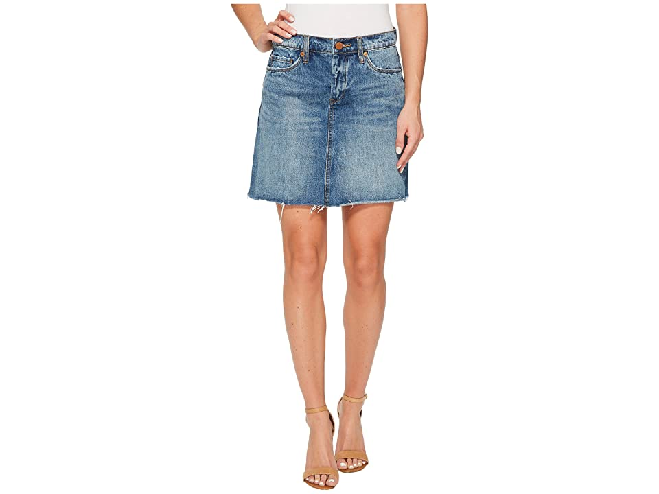 Blank NYC Denim A-Line Mini Skirt in Way Back When (Way Back When) Women