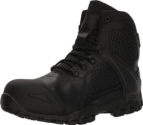 Bates Men's Shock FX Composite Toe Military and Tactical botas, negro, 14.0 2E US