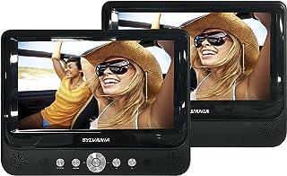 Sylvania SDVD8737 7-Inch Dual Screen Portable DVD Player