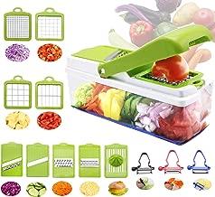 Vegetable Chopper And Mandoline Slicer Dicer Peeler, RTMAXCO All in1 Onion Chopper Julienne, Multifunctional Mandolin for Fruits Veggie, Best Kitchen Gadget Gifts.
