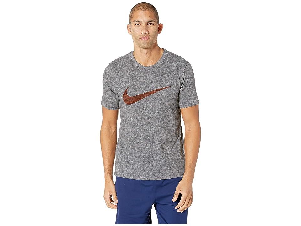 Nike NSW Tee Camo Pack 2 (Wolf Grey/Light Carbon) Men