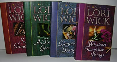 Author Lori Wick Four Book Bundle The Californian's Series 1-4 Includes: Whatever Tomorrow Brings - As Time Goes By - Sean Donovan - Donovan's Daughter