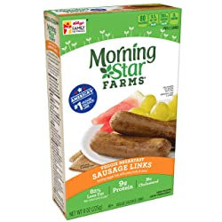 Morningstar Farms, Veggie Breakfast, Sausage Links, Vegetarian, 8 oz Box