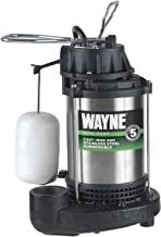 WAYNE CDU980E 3/4 HP Submersible Cast Iron and Stainless Steel Sump Pump With Integrated..