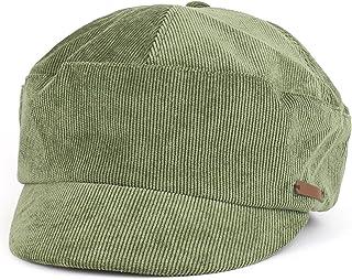 07ce33b6 Trendy Apparel Shop Plain Corduroy Newsboy Style Cabbie Lieutenant Hat