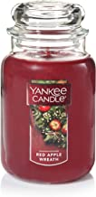 Yankee Candle Large Jar Candle, Red Apple Wreath