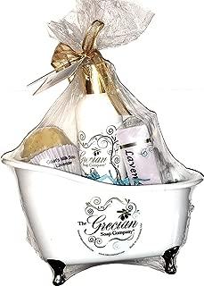 Grecian Soap Company Bath Tub Gift Set - Lavender
