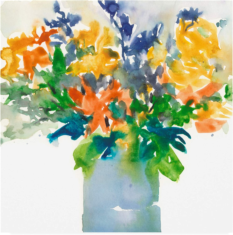 Trademark Fine Art Garden Elements I by Samuel Dixon, 14x14