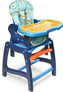 Envee Baby High Chair with Toddler Playtable and Chair Conversion