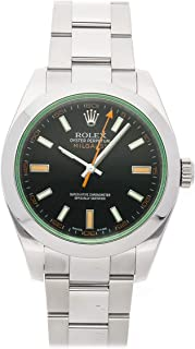 Rolex Milgauss Mechanical (Automatic) Black Dial Mens Watch 116400V (Certified Pre-Owned)