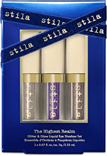 Stila The Highest Realm Glitter and Glow Liquid Eye Shadow Set, 3 count