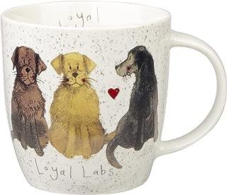 Churchill Alex Clark Loyal Labs Gift Coffee Tea Mug for Dog Lovers