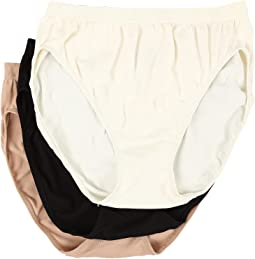 Jockey - Comfies Micro Classic Fit French Cut 3PK