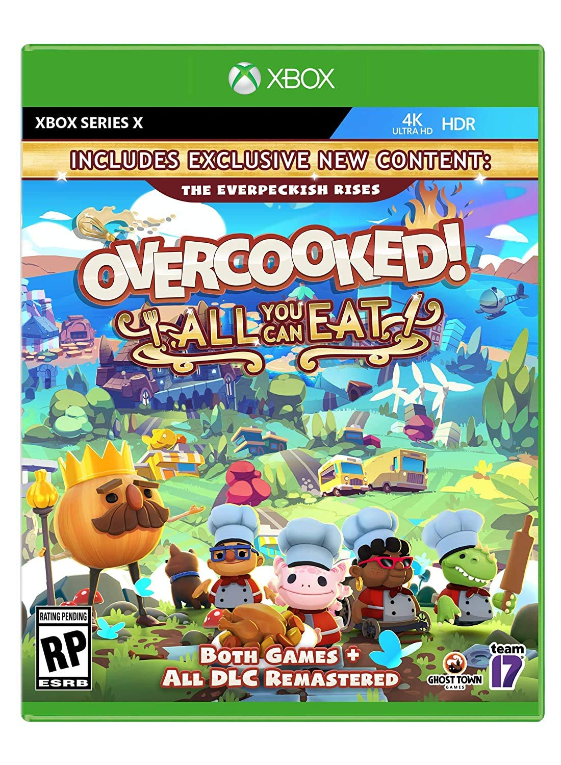 Overcooked All You Can Eat Series X Xbox Sales Outlet sale feature -