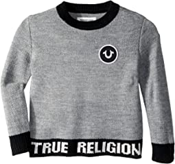 True Religion Kids - Marled Pullover Sweater (Toddler/Little Kids)