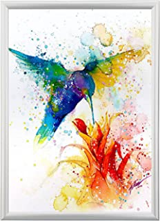 SUERUI Poster Frame 18x24 Inches, Aluminum Snap Frame, Color Silver,1