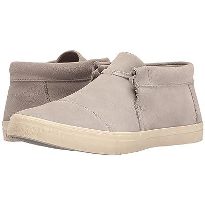 TOMS Emerson Mid Sneaker (Drizzle Grey Suede) Men