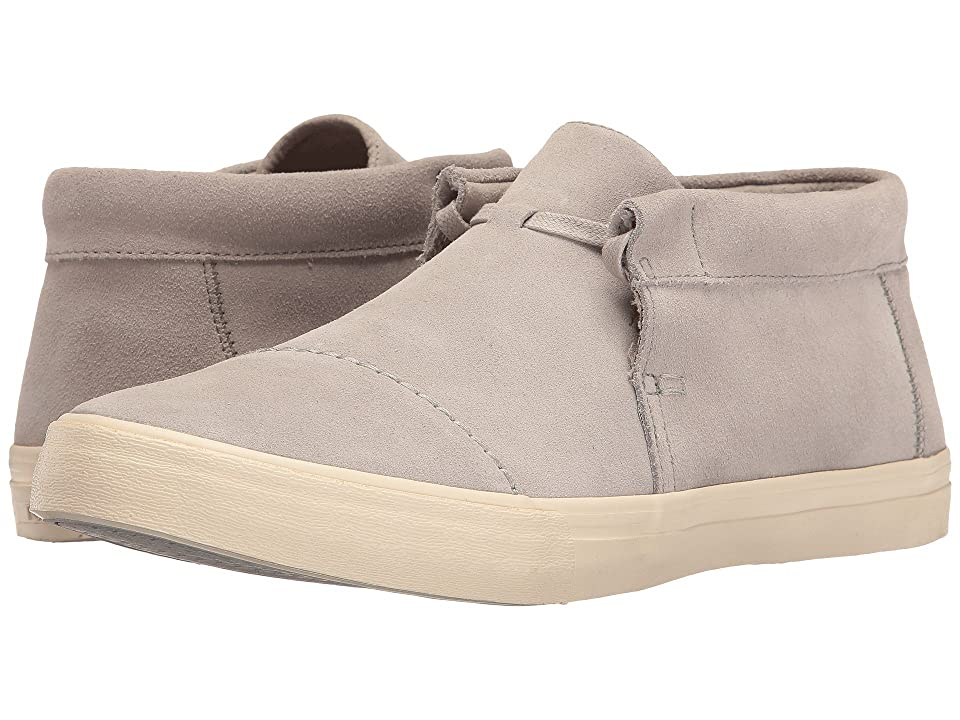 TOMS Emerson Mid Sneaker (Drizzle Grey Suede) Men