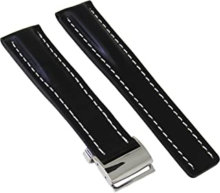 Best breitling leather deployment strap Reviews