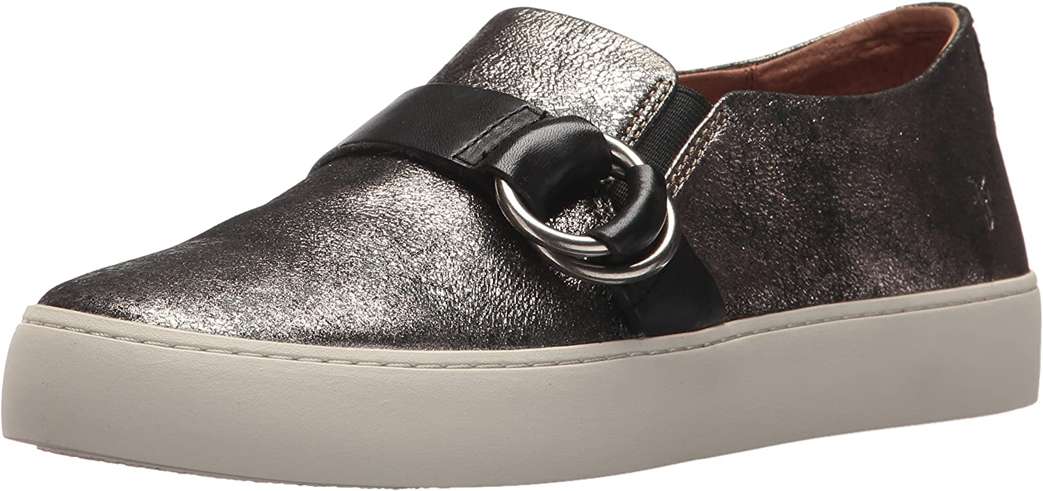 Frye Womens Lena Harness Slip on Fashion Sneaker