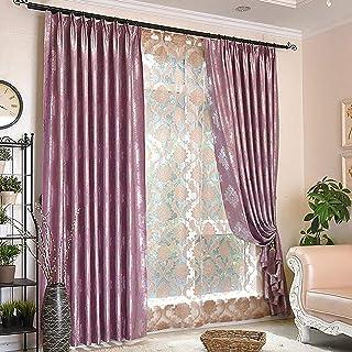 Amazon.com: Curtains & Drapes - Pinch Pleat / Purple / Curtains & Drapes /  Window Treatments: Home & Kitchen