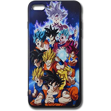 RL04 Dragon Ball Super Saiyan Goku Phone Case for iPhone 7 Plus/iPhone 8 Plus