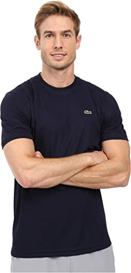 Lacoste - Sport Short Sleeve Solid Ultra Dry Tee Shirt