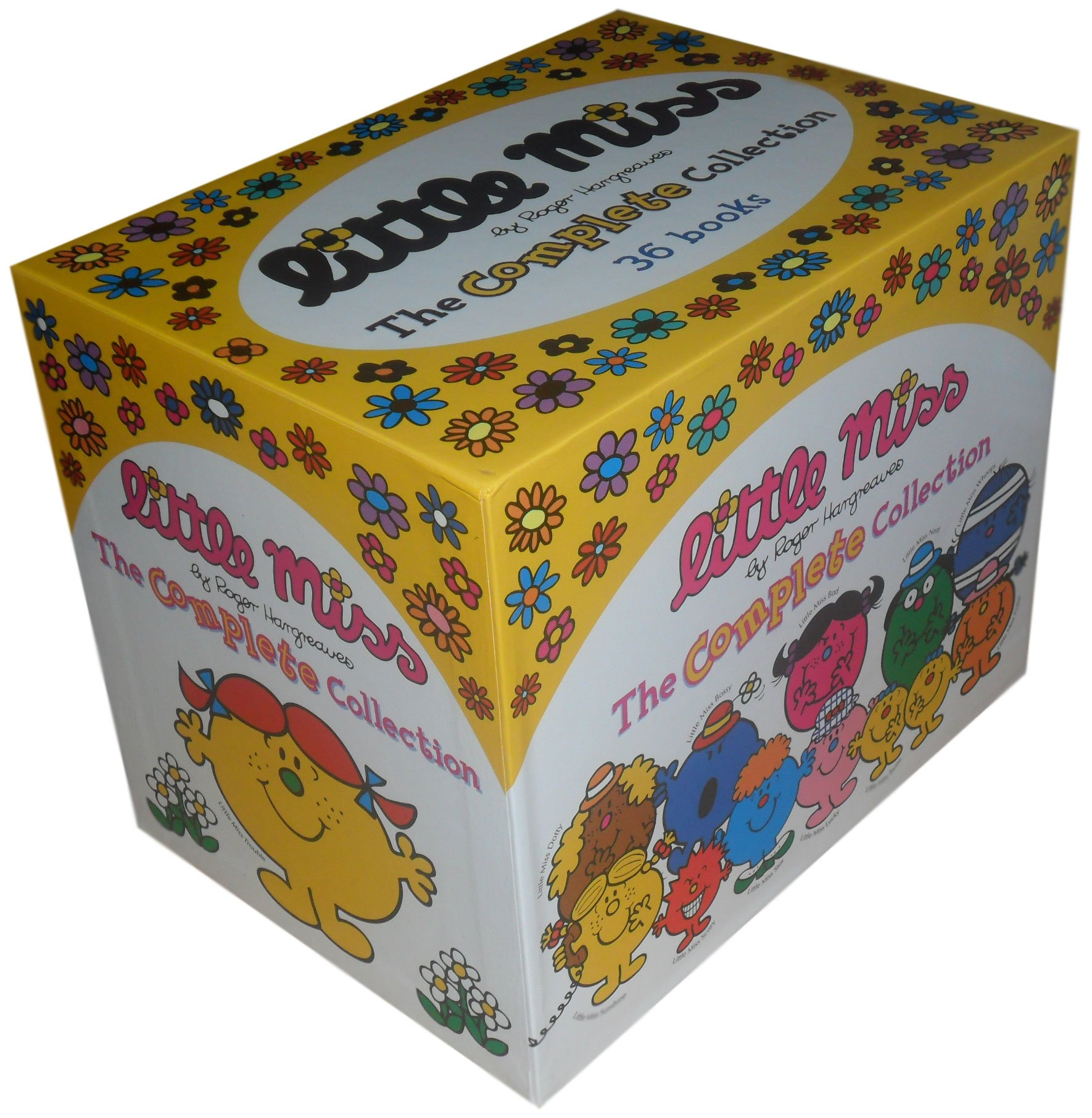 Little Miss Complete Collection Books Box Set By Roger Hargreaves