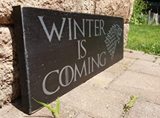 game of thrones wooden sign