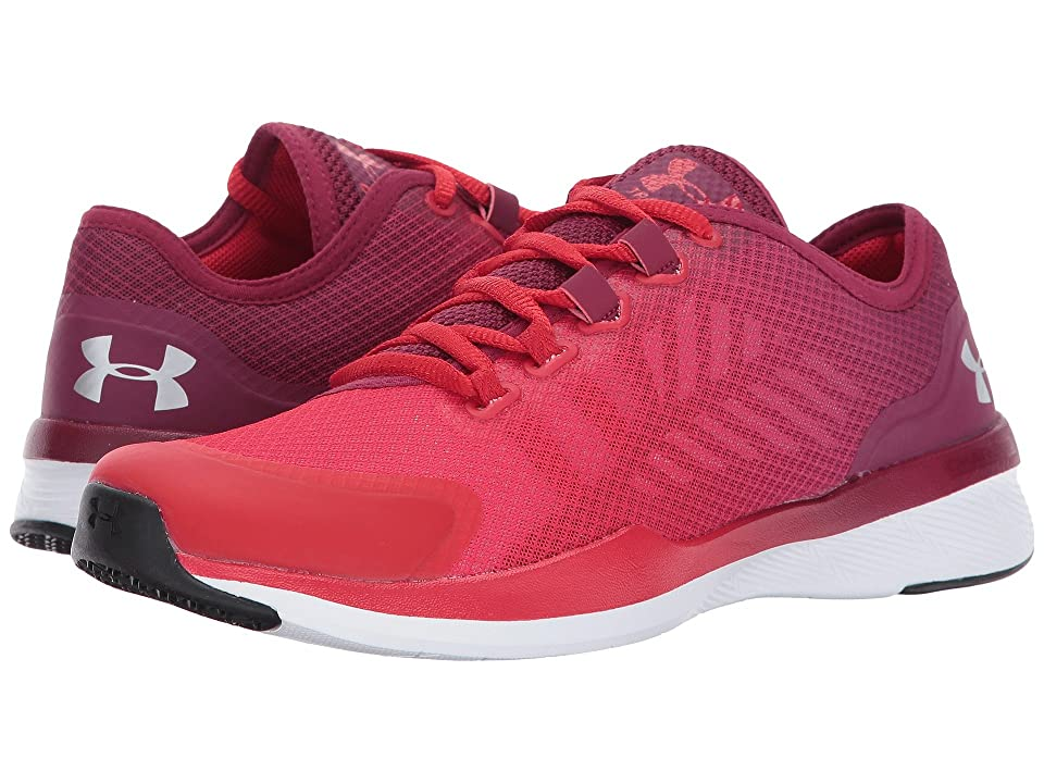 Under Armour UA Charged Push TR Segmented Color (Black Currant/Red/Metallic Silver) Women