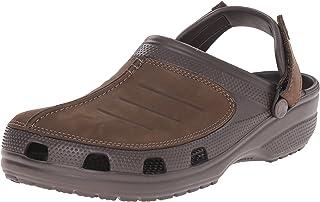 Crocs Men's Yukon Mesa Clog | Comfortable Casual Outdoor Shoe with Adjustable Fit