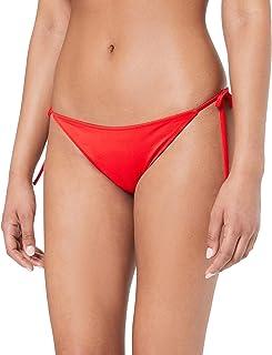 CALVIN KLEIN Women's Cheeky String Tie Bikini