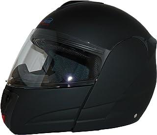 Preisvergleich für Protectwear KH-V210-MT-XL Motorradhelm, Integralhelm, Klapphelm KH-V210-MT mit Integrierter Sonnenblende, Größe XL, schwarz-matt preisvergleich