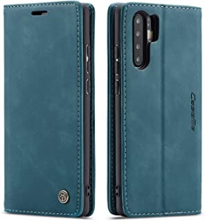 CaseMe Huawei P30 PRO Case & Cover Leather case, Wallet Case with Kickstand & Card Slots, Auto Closing Magnetic Flip and F...